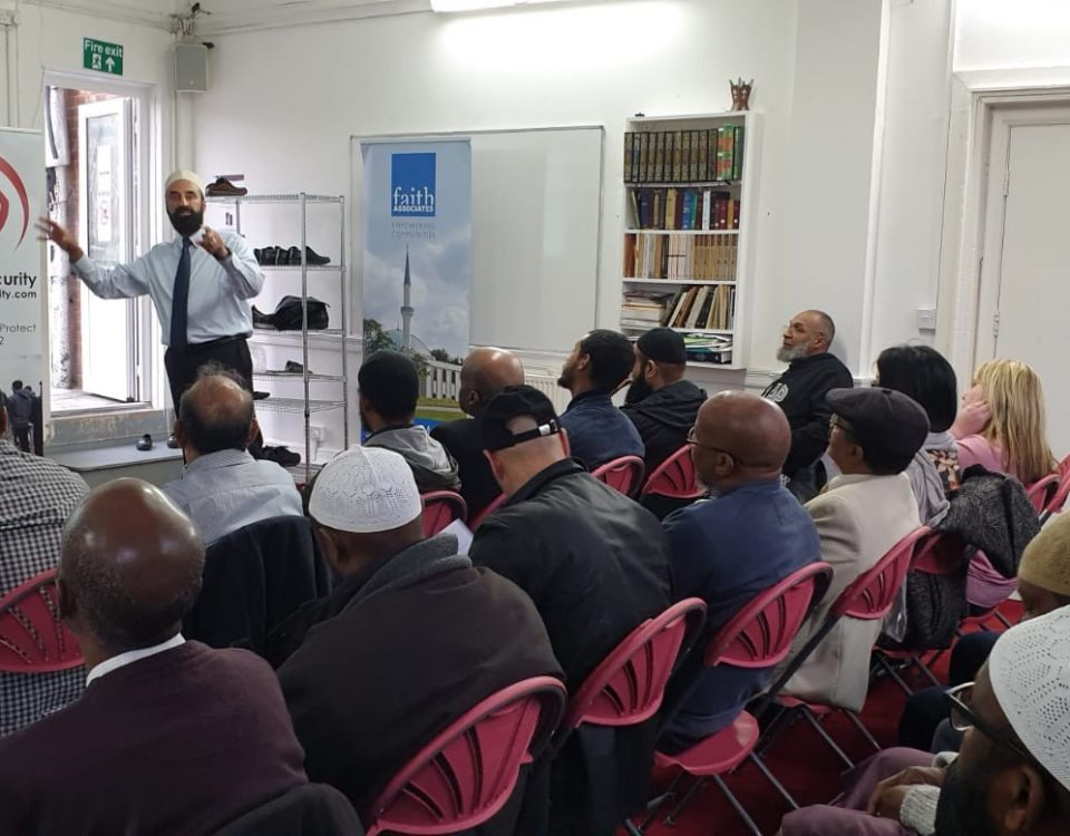 mosque security training
